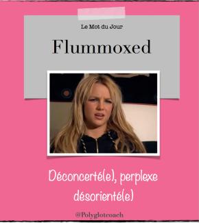 Le mot du jour en anglais:Flummoxed