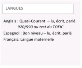 cv exemple langues Comment mettre en avant vos compétences en langues dans votre CV  cv exemple langues