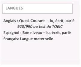 Comment Mettre En Avant Vos Competences En Langues Dans Votre Cv
