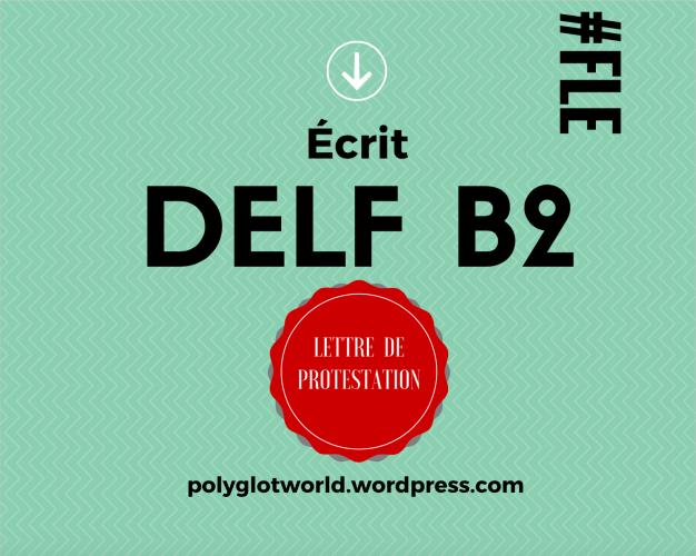 lettre de protestation DELF B2 français FLE langue écrit.png
