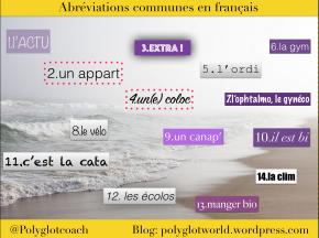14 abréviations fréquentes en français, les connaissez-vous?