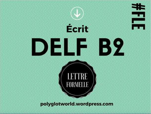 ÉCRIT DELF B2 FLE FRANÇAIS LANGUE ÉTRANGÈRE LANGUAGES.png