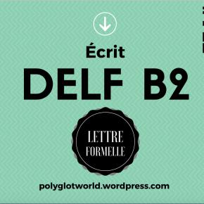 DELF B2: exemple commenté de lettre formelle sur le thème de latauromachie