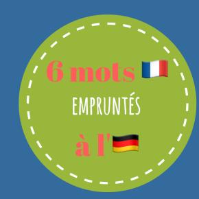 Chic, loustic, quenelle…Découvrez 6 mots français qui viennent de l'allemand
