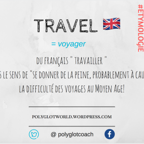 Did you know that TRAVEL comes from the French word TRAVAILLER (to work)? Here is the explanationwhy