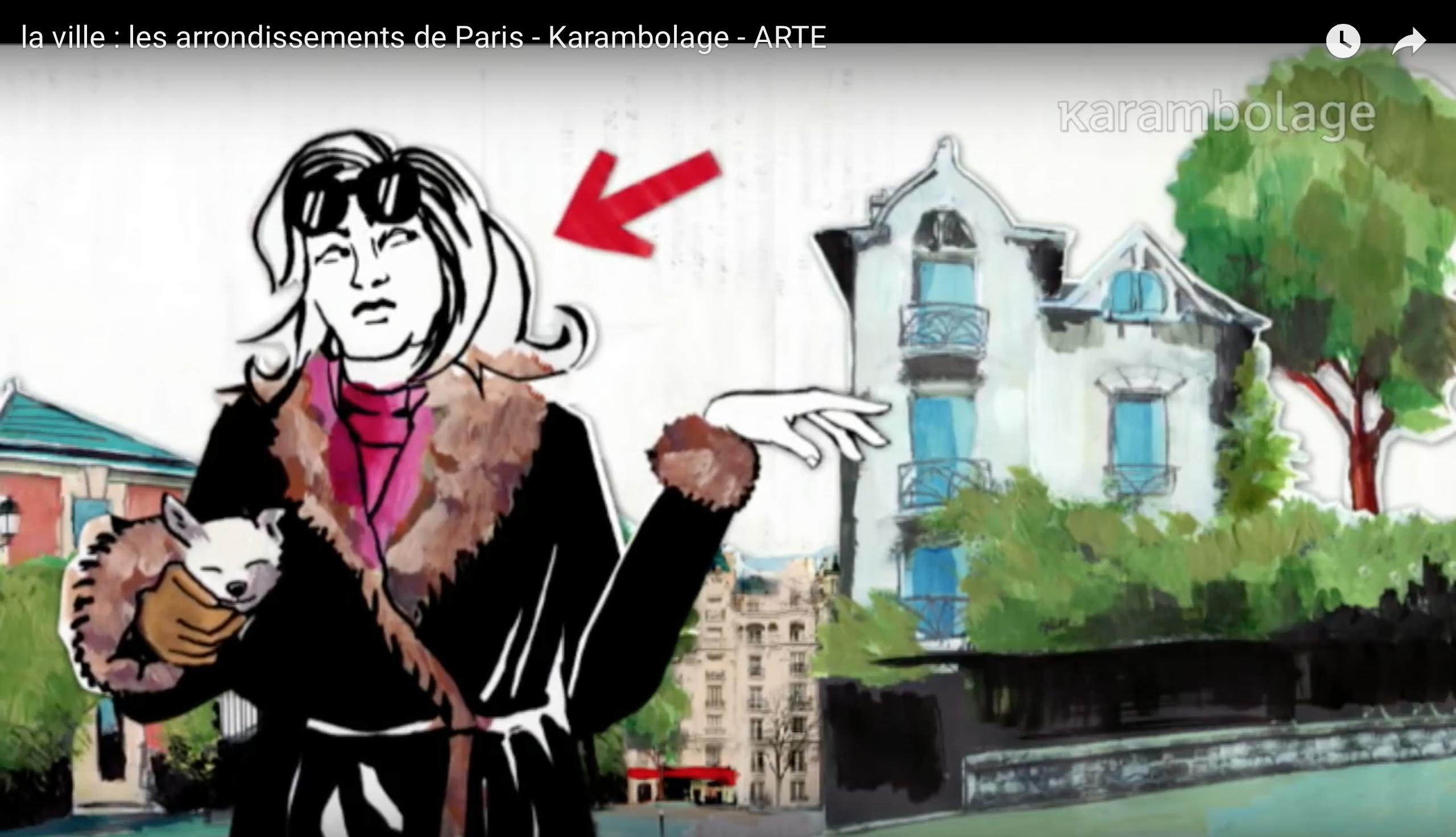 exercice FLE compréhension orale DELF B2 FLE arrondissements de Paris.png