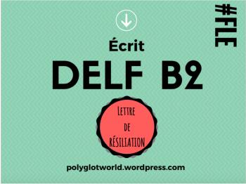Lettre De Protestation Au Delf B2 Une Lettre Au Maire