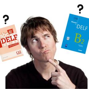 Comparatif de 2 livres de préparation au DELF B2 : Réussir le DELF B2 VS ABC DELFB2