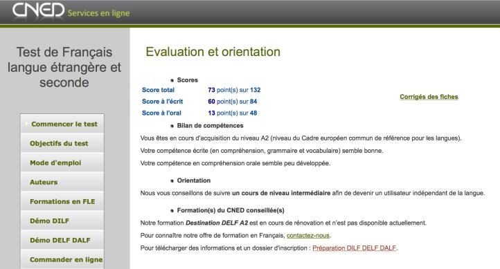 test de niveau de français CNED.png