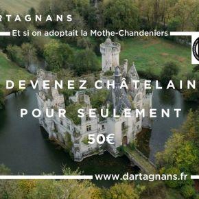 Compréhension écrite n°8 en français «Le château aux 25000 proprios*» •FLE