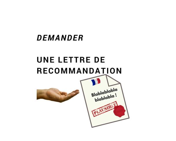 Exemple De Demande De Lettre De Recommandation à Un
