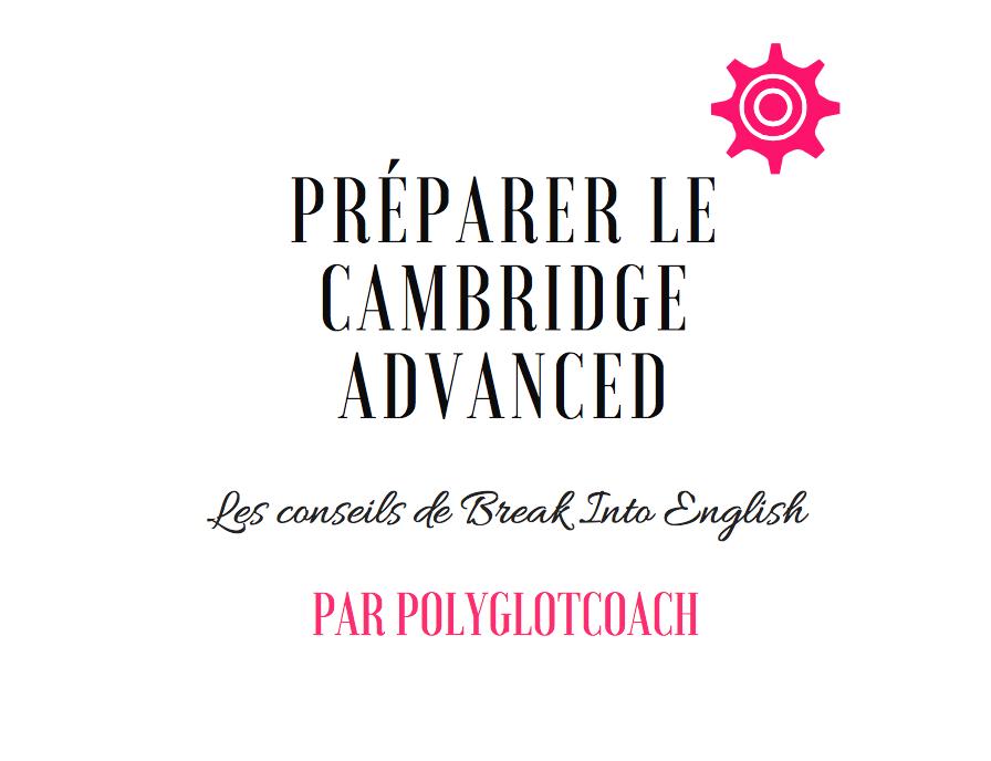 préparer le cambridge advanced polyglotcoach.png