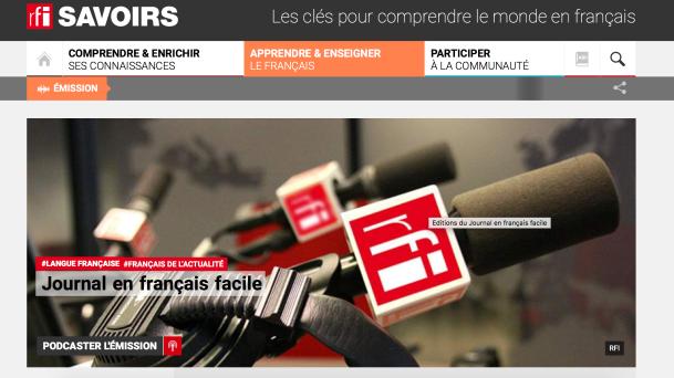 rfi journal en français facile apprendre le français.png