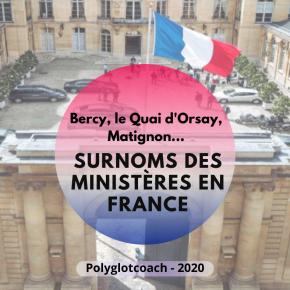 Matignon, Bercy, le Quai d'Orsay, la place Beauvau, Rue de Grenelle…Le surnom des ministères en France – Se perfectionner enfrançais